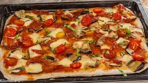 cuisiner les aubergines facile pizza aubergines jambon et mozza kilometre 0 fr