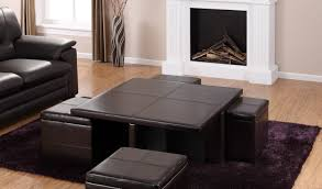 coffee table leather ottoman coffee table remarkable ottoman