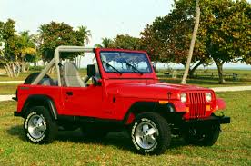 1987 jeep wrangler yj the history of the jeep wrangler everything jeeps
