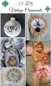 24 diy vintage ornaments the graphics