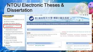 Electronic Thesis And Dissertation In Library And Information Science Office Of Library And Information Technology Ppt Download