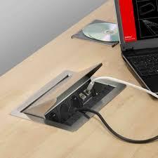 prise electrique encastrable plan travail cuisine prise electrique escamotable plan de travail 6 flip top 4 3 3