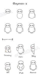 baymax 2 little baymax emoji from 基质的菊长大人 artwork
