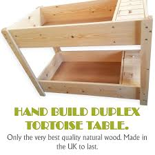 how to build a tortoise table duplex tortoise table for sale british made in natural wood