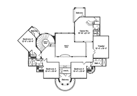 multi level floor plans mediterranean style house plan 6 beds 5 00 baths 6568 sq ft plan