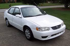 2001 toyota corolla spoiler curry s auto sales 2001 toyota corolla le