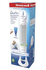 best quiet tower fan amazon com honeywell quiet set whole room tower fan home kitchen