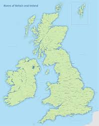 Blank Map Britain by Britain And Ireland River Map Royalty Free Editable Map Maproom