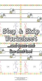 step or skip u0026 space or line music worksheets colourful keys