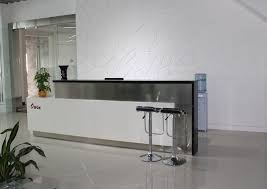 Granite Reception Desk China Reception Desk With Stainless Steel And Granite On Desk Top