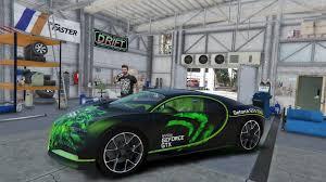 bugatti chiron crash 2017 bugatti chiron tuning livery analog digital dials