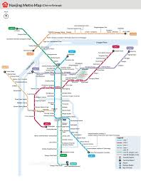 map underground nanjing metro maps subway lines stations
