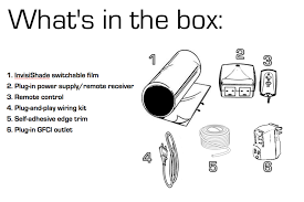 invisishade switchable privacy film smart windows