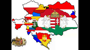 flag map of austria hungary youtube