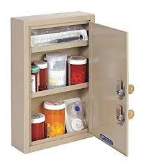 Lockable Medical Cabinets Amazon Com Compact Locking Medical Cabinet Sand 12 125