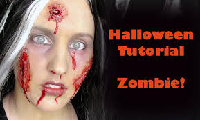 halloween tutorial zombie using liquid latex prosthetics