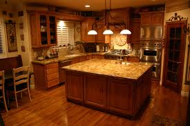 Kitchens With Wood Cabinets Kitchen Granite Countertop With Black Baltic Style Fits On