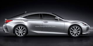is lexus is lexus developing an rc four door coupe lexus enthusiast