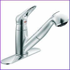 iron centerset kitchen faucet leaking from neck single handle side