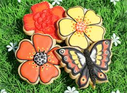 butterfly cookie decorating tutorial color flow icing youtube