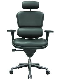 Leather Office Chair Front Ergohuman Leather Eurotech