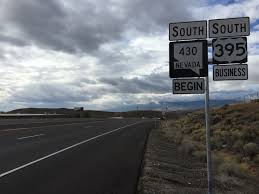 U S Route 395 In by File 2015 10 28 10 44 31 View South From The North End Of Nevada