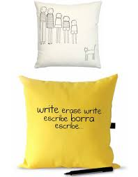 pillow talk post its write and erase couch cushion covers
