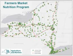 New York State Road Map by New York State Department Of Agriculture And Markets