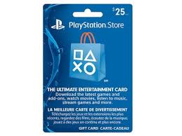 ps4 gift card playstation network 25 card