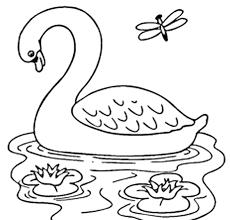 sketsa gambar pemandangan dan hewan gambar mewarnai 2018