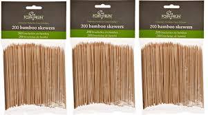 amazon com fox run bamboo skewers set of 100 kitchen u0026 dining