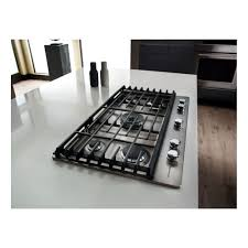 Thermador Cooktop With Griddle Kcgs956ess Kitchenaid 36
