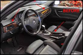 How To Vinyl Wrap Interior Trim Bmw 328i E90 Sedan Gloss Carbon Fiber Vinyl Interior Car Wrap