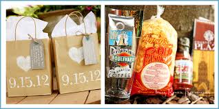 out of town guest bags kendra spencer married kansas city wedding photographer