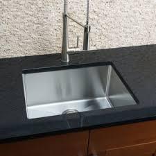 Single Undermount Kitchen Sinks by Emodern Decor Ariel 23