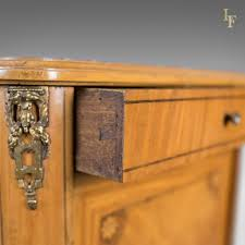 marble top bedside table french antique bedside cabinet marble top nightstand c 1890