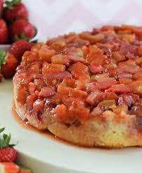 best 25 rhubarb upside down cake ideas on pinterest rhubarb