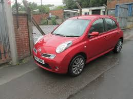 nissan micra owners club used nissan micra hatchback 1 6 16v 160sr 5dr in rotherham south