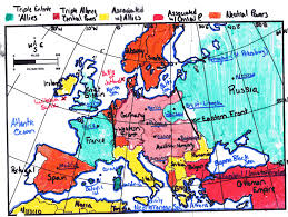 European Map 1914 by Europe 1914 Map With Cities Images