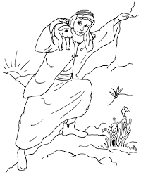 good shepherd and lost sheep parable coloring pages sheep and