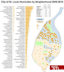Chicago Homicide Map by Understanding St Louis Homicides 2005 2012 Nextstl