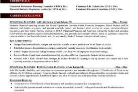 Financial Consultant Resume Sample by Financial Advisor Resume Examples Reentrycorps