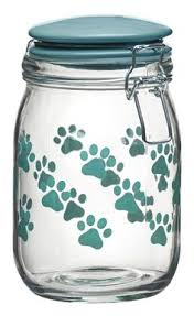 Decorative Dog Food Storage Container - pooch pantry pet food storage collection woof pinterest pet