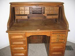 computer table roll top computer desk oak raised panel shocking