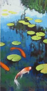 koi pond painter elizabeth osborne