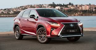 lexus rx turbocharged lexus rx models receive new sports variants