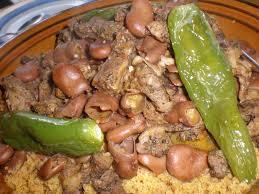 cuisiner des feves seches couscous à la tunisienne aux fèves et à la viande séchée filkoujina