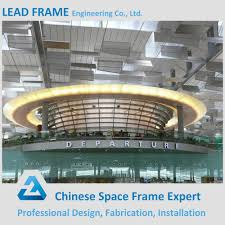 prefab light steel structure airport terminal prefab light steel