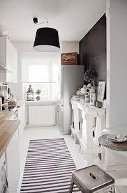 cuisine en couloir 5 aménagements pour une cuisine en longueur deco cool