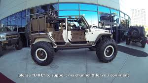 starwood motors jeep bandit starwood jeep wrangler sema show las vegas youtube